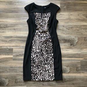 Dress Barn Leopard Print Dress